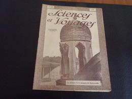 """Revue """" Sciences Et Voyages """" N° 485 Du 13 Décembre 1928 """" Le Minaret De La Mosquée De Samarcande """" - 1900 - 1949"""