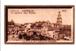 CHROMOS SUCHARD - LETTONIE - SQUARE DES ROSES A LEEPAJA - Suchard
