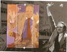 Portugal ** & Tribute To Mario Soares, Portuguese Statesman 2017 (457) - Blocks & Kleinbögen