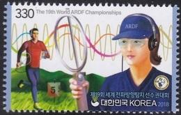 "South Korea 2018 The 19th World ARDF Championships, ""Find The Fox"" - Corée Du Sud"