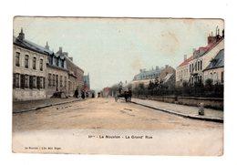 CPA 02 - Le Nouvion - La Grand Rue , Colorisée - France