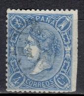 E+ Spanien 1865 Mi 68 Isabella II. - 1850-68 Kingdom: Isabella II