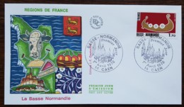 FDC 1978 - YT N°1993 - BASSE NORMANDIE - CAEN - FDC