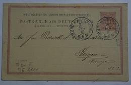 Wuerttembenrg Postkarte Aus Deutschland  P24II (Wue.8 - Wurtemberg