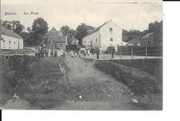 """Braives - Le Pont - Attelage: Boulanger """"Le Bon Pain Chez Hesbignon"""" - Animée - Circulé: 1920 - 2 Scans - Braives"""