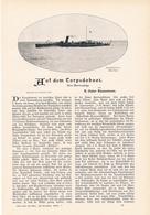 198 Torpedoboot Kiel 1 Artikel Mit 4 Bildern Von 1902 !! - Historische Dokumente