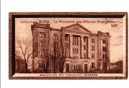CHROMOS SUCHARD - LETTONIE - MINISTERES DES AFFAIRES ETRANGERES A RIGA - Suchard