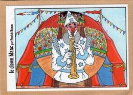 B55504 Festicart 2014 - Le Clown Blanc Par Patrick Hamm - Cartes Postales