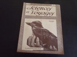 """Revue """" Sciences Et Voyages """" N° 477 Du 18 Octobre 1928 """" Le Martin-chasseur, L'oiseau Qui Rit """" - 1900 - 1949"""