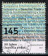 Bund 2017, Michel# 3339 O 50 Jahre Justitia Et Pax - Gebraucht
