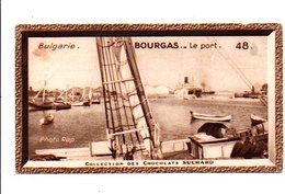 CHROMOS SUCHARD - BULGARIE -  PORT DE BOURGAS - Suchard
