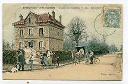CPA  93 : Franceville Montfermeil  VOIR  DESCRIPTIF  §§§ - Montfermeil