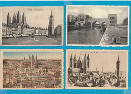 BELGIË Beloeil, Chimay, Tournai, La Louviere, Ronquieres Lot Van 60 Postkaarten. - Cartes Postales