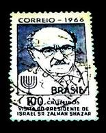 Brazil, 1966, Famous Persons, Israel President- Schasar.Michel # 1111 - Célébrités