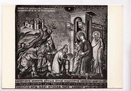 ROMA, P. CAVALLINI, L'EPIFANIA, MOSAICO IN S. M. IN TRASTEVERE, Unused Real Photo Postcard [22772] - Roma (Rome)
