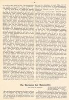204 Vorläufer Des Automobils  1 Artikel Mit 10 Bildern Von 1906 !! - Historische Dokumente