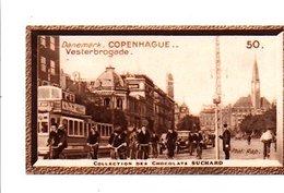 CHROMOS SUCHARD - DANEMARK - VESTERBROGADE A COPENHAGUE - Suchard