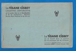 BUVARD - TISANE CISBEY - PRODUIT PHARMACEUTIQUE - - Chemist's