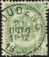 "COB   56  (o) Oblitération ""Houdeng""  T1L - 1893-1907 Armoiries"