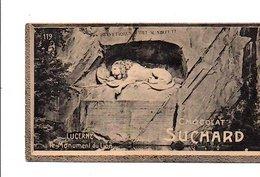 CHROMOS SUCHARD - SUISSE - MONUMENT DU LION A LUCERNE - Suchard