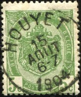 "COB   56  (o) Oblitération ""Houyet"" T1L - 1893-1907 Armoiries"