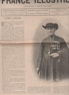 LA FRANCE ILLUSTREE 17 12 1898 - ABBE LANUSSE - GENERAL MANIGAT HAÏTI - PAPE ST ZEPHYRIN - MAISON CARDINAL MACCHI - Periódicos