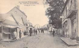 MILITARIAT - 23 - LA COURTINE : Le Camp - Avenue De La Gare - CPA - Charente Maritime - Casernes