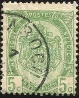 "COB   56  (o) Oblitération ""Laroche""  T1L - 1893-1907 Armoiries"