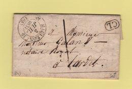 Mauleon - 64 - Basses Pyrenees - CL Correspondance Locale - 3 Juillet 1831 - 1801-1848: Précurseurs XIX