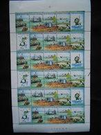 2273 / 76    LA  FEUILLE  DE 6 BANDES - Full Sheets