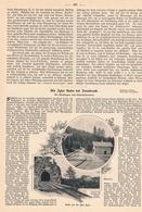 217 Igler Bahn Innsbruck 1 Artikel Mit 4 Bildern Von 1900 !! - Historische Dokumente