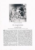 221 Jungfraubahn 1 Artikel Mit 6 Bildern Von 1905 !! - Historische Dokumente