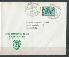 Lettre De Remerschen (3/11/65) - Marcophilie - EMA (Empreintes Machines)