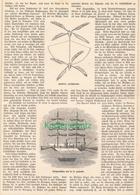 224 100 Jahre Luftschifffahrt 1 Artikel Mit 5 Bildern Von 1882 !! - Auto & Verkehr