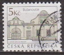 Architecture - TCHEQUIE - REPUBLIQUE TCHEQUE - Maisons Du Village De Busanovice - N° 664 - 2012 - Oblitérés