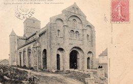 03 Allier : Chatel Montagne Eglise Romane - Autres Communes