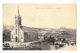 LE GUA Près AUBIN   (cpa 12)   L'Eglise   -  L 1 - France