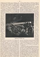 229 Luftschiff Fesselballon Im Kriege 1 Artikel Mit 7 Bildern Von 1892 !! - Auto & Verkehr