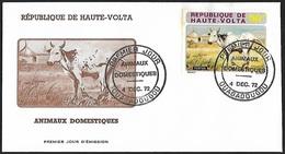1972 - HAUTE-VOLTA - FDC - Y&T 282 [Bos Primigenius Indicus] + OUAGADOUGOU - Haute-Volta (1958-1984)
