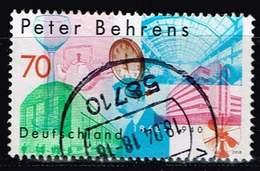 Bund 2018, Michel# 3373 O 150. Geburtstag Peter Behrens - Usados
