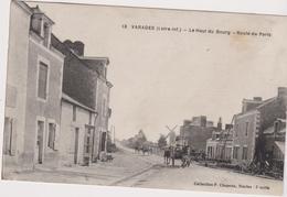 Cp07...VARADES LE HAUT DU BOURG  Route De Paris - Varades