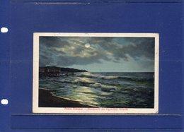 ##(ROYBOX1)- Postcards - Latvia -  Riga,  Mondnacht Am Rigaschen Strande - Used 1917 - Lettonia