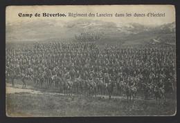 CAMP DE BEVERLOO * REGIMENT DES LANCIERS DAN LES DUNES D'HECHTEL * - Leopoldsburg (Kamp Van Beverloo)