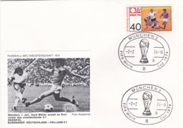 Germany Cover 1974 FIFA World Cup Football In Germany - München The Final Germany-Netherlands 2:1 (G99-2) - Fußball-Weltmeisterschaft