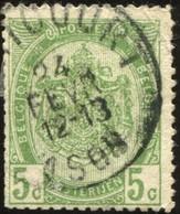 "COB   83  (o) Oblitération ""Remicourt""  T1L - 1893-1907 Armoiries"