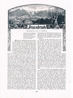 234-3 Innsbruck Engelhardt Compton 1 Artikel Mit 7 Bildern Von 1907 !! - Historische Dokumente