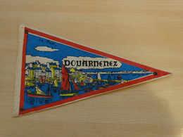 Fanion Touristique France DOUARNENEZ - CORNOUAILLE (vintage Années 60) - (Vaantje - Wimpel - Pennant - Banderin) - Obj. 'Souvenir De'