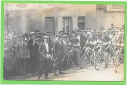 Carte PHOTO à Situer. Course De Vélos.23 Juin 1924 - CLAYE, LES CLAYES ??????  Voir Verso - Photographs