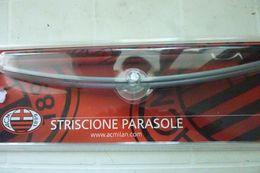 STRISCIONE PARASOLE AUTO AC MILAN CALCIO NUOVO IN BLISTER - Abbigliamento, Souvenirs & Varie