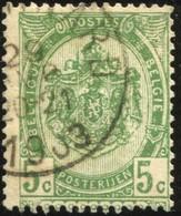 "COB   56  (o) Oblitération ""St Gerard"" T1L - 1893-1907 Armoiries"